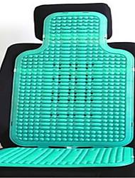 Verão almofadas de plástico PVC novo verão pad legal assento de carro único