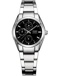 Муж. Нарядные часы Модные часы Кварцевый / Нержавеющая сталь Группа Повседневная Серебристый металл