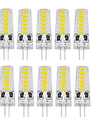 10 PCS G4 12 Smd led 5733 DC12V 400 lm Warm White White Double Pin Waterproof Lamp