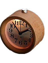 Creative Wood Alarm Clock