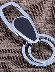chave de metal homens de negócios pingente de couro cadeia anel chave do carro da cintura fivela