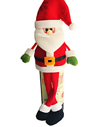 Christmas Ornaments Christmas Santa Claus Style Wine Bottle Cover 13*33cm
