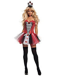 Newest!Adult The queen of hearts Costumes For Hallowen Party Sexy Princess  Cosplay
