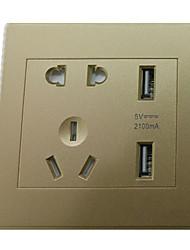 86 Intelligent Charging Socket (Color Gold)