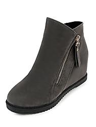 Для женщин Ботинки Удобная обувь Армейские ботинки Полиуретан Зима Повседневные Для праздника Для прогулок Удобная обувь Армейские ботинки