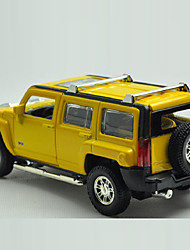 Action Figure / Play Vehicles Model & Building Toy Car Metal Red / Yellow / Gray For Boys Above 3