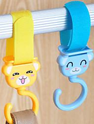 Nouveautés de crochets Crochets Plastique Tissu avec # , Fonctionnalité est Ouvert Voyage Shopping , Pour Tissu Voitures Shopping