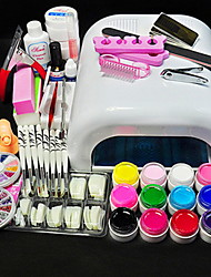 Manicure Full Extension of Phototherapy Glue Set Pieces Phototherapy Manicure Tools Mchine Set