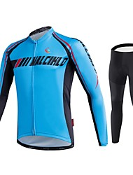 Cycling Jersey  Pants/JerseyTights / Compression Clothing / Tights Men's Long SleeveBreathable / High Breathability