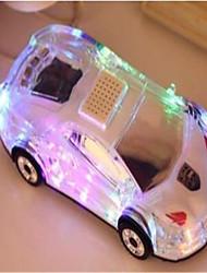 clignotera haut-parleurs sans fil Bluetooth bockini lumineuse subwoofer voiture