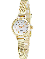 Mujer Reloj de Vestir Reloj de Moda Reloj de Pulsera Reloj Casual Cuarzo La imitación de diamante Aleación Banda Cool Casual Elegantes