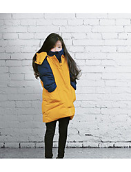 Girl's Casual/Daily Solid Down & Cotton PaddedCotton Winter Yellow