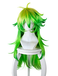 Black and white to the Detention Center 25 Niko yellow gradient green anti - Alice cosplay long hair