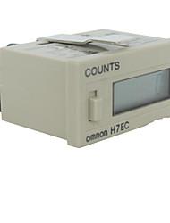 ЖК-цифровой дисплей электронной стабилизации счетчик времени H7EC-bvlm (внутренний источник питания)