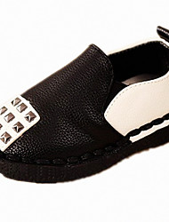 Unisex Loafers & Slip-Ons Spring / Summer / Fall / Winter Others PU Casual Flat Heel Others Black / White / Silver Others