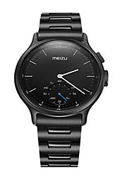 Men's Smart Watch Digital Stainless Steel Band Black / White Brand