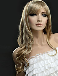 Golden Synthetic Hair America and Europe Popular Up Ladies Wigs