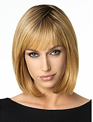 Bob Wig Synthetic Short Wig for European and American Women Wig Heat Resistant Female Cheap Bob Hairstyle Fake Hair
