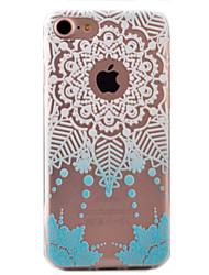 Pour Coque iPhone 7 / Coques iPhone 7 Plus / Coque iPhone 6 Motif Coque Coque Arrière Coque Attrapeur de rêves Flexible TPU AppleiPhone 7