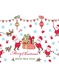 Christmas wall stickers plane wall sticker/mirror wall stickers to decorate wall stickers PVC materials home decoration