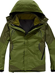 Hiking Tops Men's Waterproof / Thermal / Warm / Windproof / Insulated / Comfortable Spring / Fall/Autumn / Winter CottonGreen / Red /