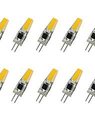 3W G4 LED Doppel-Pin Leuchten COB COB 280LM lm Warmes Weiß / Kühles Weiß V 10 Stück