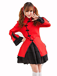 Maid Costumes Festival/Holiday Costumes Shirt / Skirt / Headwear  Female Polyester
