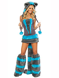 Cosplay Festival/Holiday Costumes Dress / Leg Warmers / Hat Female Polyester