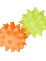 Dog Pet Toys Squeaking Toy Squeak / Squeaking / Elastic Random Color Plastic