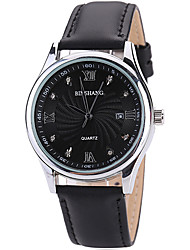 Masculino Relógio de Pulso Quartz / PU Banda Legal / Casual Cinza marca