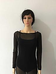 Women's Club Sexy Sheath Dress,Solid Boat Neck Midi Long Sleeve Black Rayon Summer Mid Rise Micro-elastic Thin