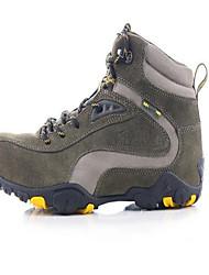 Tênis de Caminhada Sapatos Casuais Sapatos de Montanhismo Homens Anti-Escorregar Anti-Shake Anti-desgaste Ao ar Livre Pele Real Borracha