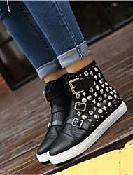 Damen-Sneaker-Lässig-PUOthers-Schwarz / Gold