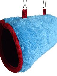 Попугай белкам хлопка гнездо коттедж туннель туннель гамак птица тепло