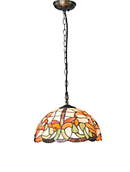 30cm Retro Tiffany Pendant Lights Glass Shade Living Room Bedroom Dining Room Kids Room light Fixture