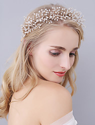 Handmade Women's Crystal Headpiece-Wedding / Special Occasion Tiaras / Headbands 1 Piece