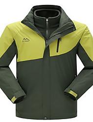 Trilha Blusas Mulheres / Homens Impermeável / Mantenha Quente / A Prova de Vento / Confortável / Grossa Outono / Inverno TeryleneAmarelo