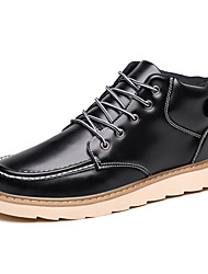 Men's Popular Boots Comfort Leather Outdoor/Casual Walking Combat Boots Tooling Boots