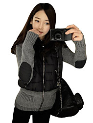 Women's Winter Warm Parka Coat Casual Solid Hooded Long Sleeve