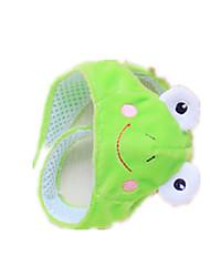 Dog Bandanas & Hats Green Dog Clothes Spring/Fall Solid Cute