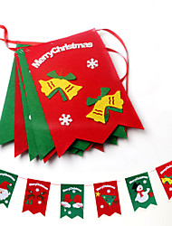 1PC Christmas Decorations Hanging Christmas Ornaments Flag Flag Hotel Decoration Decoration Market