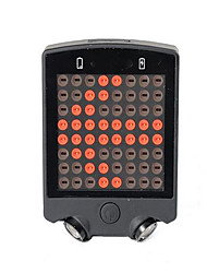 Bike Glow Lights  Rear Bike Light  Safety Lights LED Cycling Remote Control  Waterproof  Rechargeable  Color-ChangingCR2032  Other