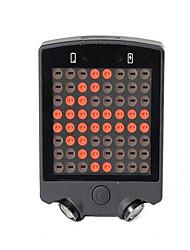 luzes do fulgor da bicicleta / Luz Traseira Para Bicicleta / luzes de segurança LED CiclismoControle Remoto / Prova-de-Água /