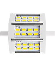 10W R7S Fari LED Tubolare 24 SMD 5730 880 lm Bianco caldo / Luce fredda Decorativo V 1 pezzo