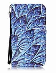 Pour Portefeuille / Porte Carte / Avec Support / Clapet / Motif Coque Coque Intégrale Coque Fleur Dur Cuir PU pour HTC HTC Desire 626