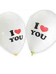 Balões Forma Cilindrica Borracha Branco Para Meninos / Para Meninas 8 a 13 Anos / 14 Anos ou Mais