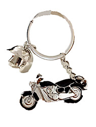Key Chain Leisure Hobby Motorcycle Metal Black For Boys / For Girls