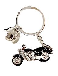 Porta-Chaves Hobbies de Lazer Motocicletas Metal Preta Para Meninos / Para Meninas