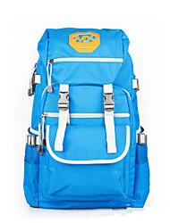 25 L Rucksack Camping & Wandern / Schule Draußen Wasserdicht / Atmungsaktiv Schwarz / Blau