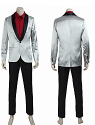 Cosplay Costumes /  Popular Squad Joker Uniform Cosplay Costume Suit Pants Shirt High Quality Any Size Custom Made